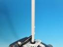 UCM-2011: Ukázka uchycení projektoru BOXLIGHT. Nový model stropního držáku s elegantím uložením až 7 kabelů v teleskopu.