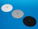 Příslušenství - stropní úchyt Ø18cm ve třech barevných provedeních. Vhodné pro uchycení projektoru v dřevěných a rákosových stropech.